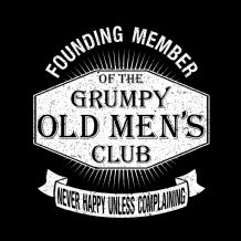 NEW Grumpy Old Men's Club